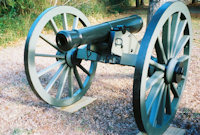 Cannon front view - click here for a larger image...