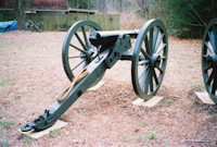 Cannon rear view - click here for a larger image...